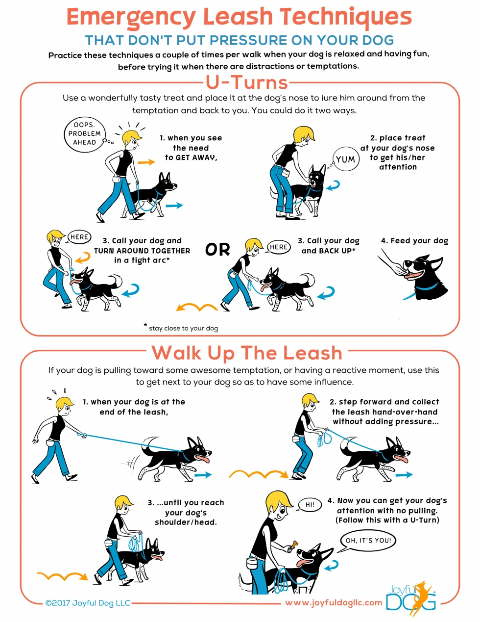 Emergency Leash Techniques