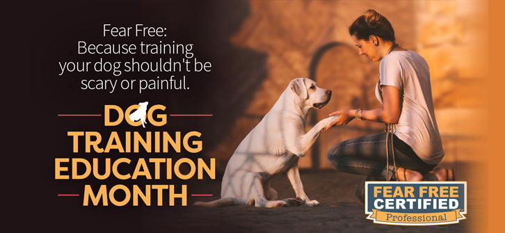 February Fear Free Training Education Month